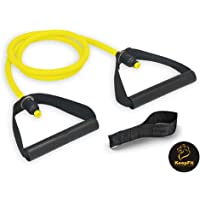 CHOUREN Resistance Bands Exercise Cords For work out, fit, weightlose, slimming, Yoga (Color : 10LBS, Size : No Door…