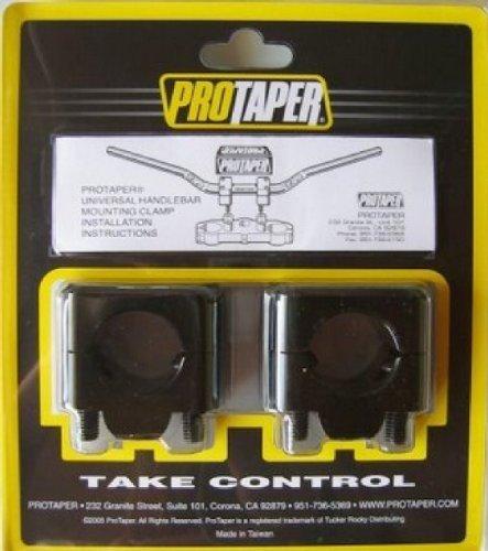 Pro Taper Universal Solid Mount Kit Black (Pro Mount Taper)