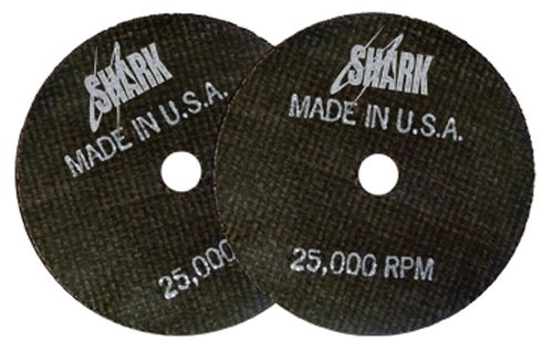 3-Inch by 1//32-Inch by 3//8-Inch 50-Pack Shark Welding 12701 Shark Cut-Off Wheel 54-Grit