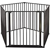 Baby Dan Flex Safety Gates, Black, XX-Large