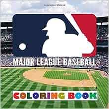 Major League Baseball Coloring Book product image