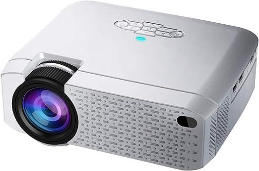 Proyector Mini Led, Video Beamer para Home Cinema.1600 LúMenes ...