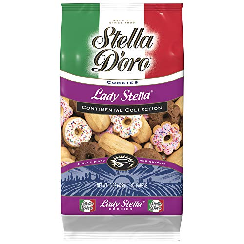 Stella D'Oro Cookies, Lady Stella Assorted, Variety, 15 Ounce