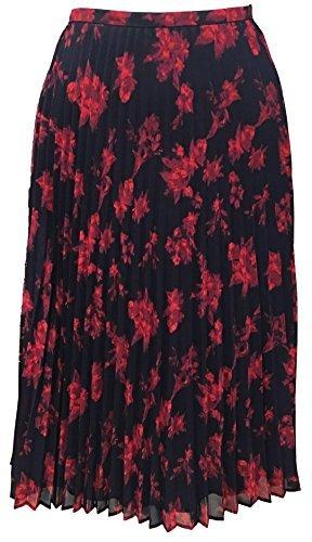 LAUREN RALPH LAUREN Floral-Print A-Line Midi Skirt (22W, Multi) - Ralph Lauren Print Skirt