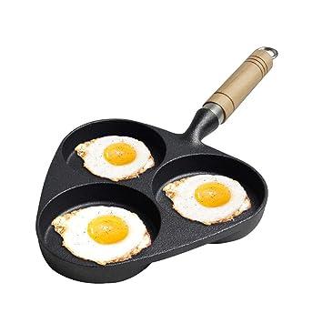Axxiu Ollas de cocina Sartenes Cacerola Sartén de huevo 9Cm 3 ...