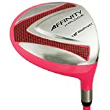 Affinity Women's Golf Xplode 5 Fairway Wood, Ladies Flex, Right Hand, Pink