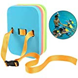 Katie Adjustable Swimming Back Float 4 Layers EVA Foam Board With Quick Release Buckle For Adults Kids (Large)