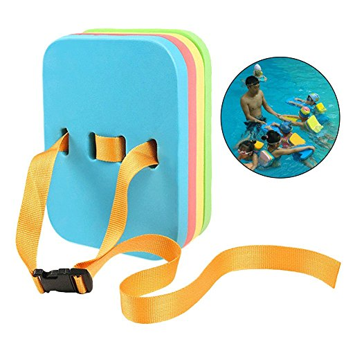 Katie Adjustable Swimming Back Float 4 Layers EVA Foam Board With Quick Release Buckle For Adults Kids ()