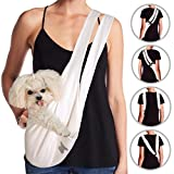 MISO PUP Dual Strap Sling Carrier (White/Gold) Review