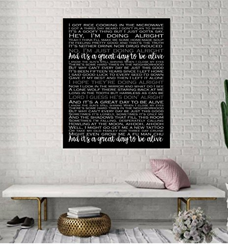 Song Lyrics, Personalized Wedding Present, Anniversary Gift, First Dance Song, Wedding Song On Canvas, First Dance Song Lyrics, Custom canvas art by PicturePerfectbyJody