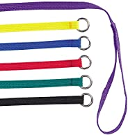 Guardian Gear Nylon Dog Kennel Lead, 6-Pack, 6-Feet, Colors Vary