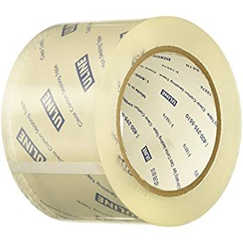 Amazon Com Uline Packing Tape 3 Quot X 55 Yd 2 6 Mil