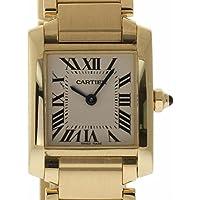 Cartier Tank Francaise swiss-quartz womens Watch W50002N2 (Certified Pre-owned)