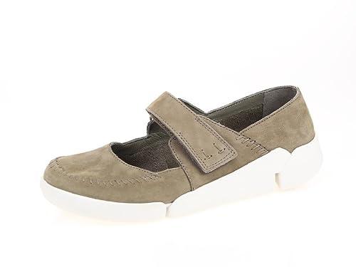 Clarks 261156205 05 - Mocasines de Piel para Mujer Beige Beige, Color marrón, Talla 36: Amazon.es: Zapatos y complementos