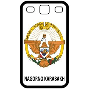Nagorno Karabakh - Country Coat Of Arms Flag Emblem Black Samsung Galaxy S3 i9300 Cell Phone Case - Cover