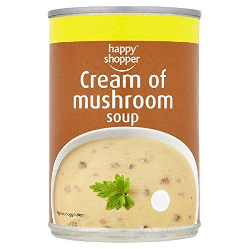 Happy Shopper Cream of Mushroom Soup 400g (Pack of 6 x 400g)