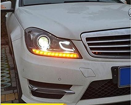 Amazon Com Gowe Benz W204 Headlights 2011 2013 C180 C200 C260 Led