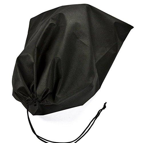 Donne 25 Le Uomini Borse Di 3pcs Organizzatori Coulisse Viaggio Nera Scarpe Deposito Pezzi Per Tessuti Non Butterme Con Soft Gli UafnTqWdUF