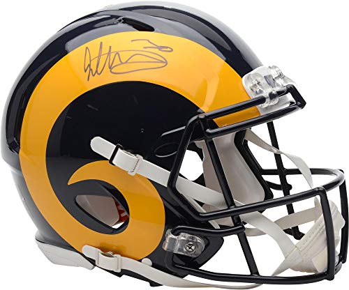 Todd Gurley II Los Angeles Rams Autographed Speed Throwback Pro-Line Authentic Helmet - Fanatics Authentic Certified
