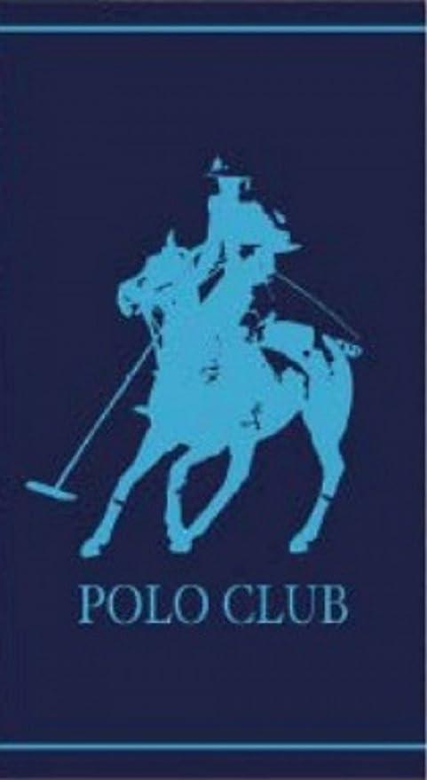 Toalla de playa Polo Club Azul 90 x 170: Amazon.es: Hogar