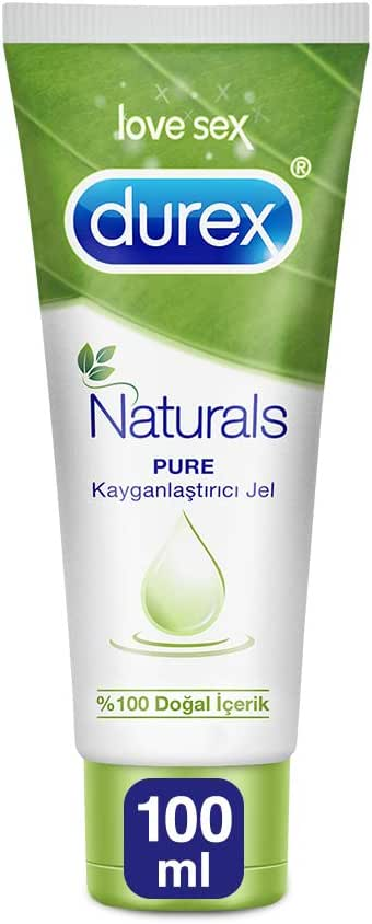 Durex Naturals Pure Kayganlaştırıcı Jel 100 ML 1 Paket (1 x 100 ml)
