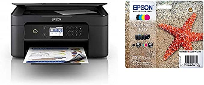 Epson Expression Home Xp 4100 3 In 1 Tintenstrahl Multifunktionsgerät Computer Zubehör
