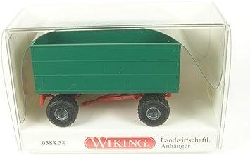 Caja Agrícola Remolque - Modelo de Auto, modello completo, Wiking 1:87: Wiking: Amazon.es: Juguetes y juegos