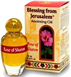 Rose of Sharon Jerusalem Anointing Oil 0.4 fl.oz(12ml)from the Land of the Bible