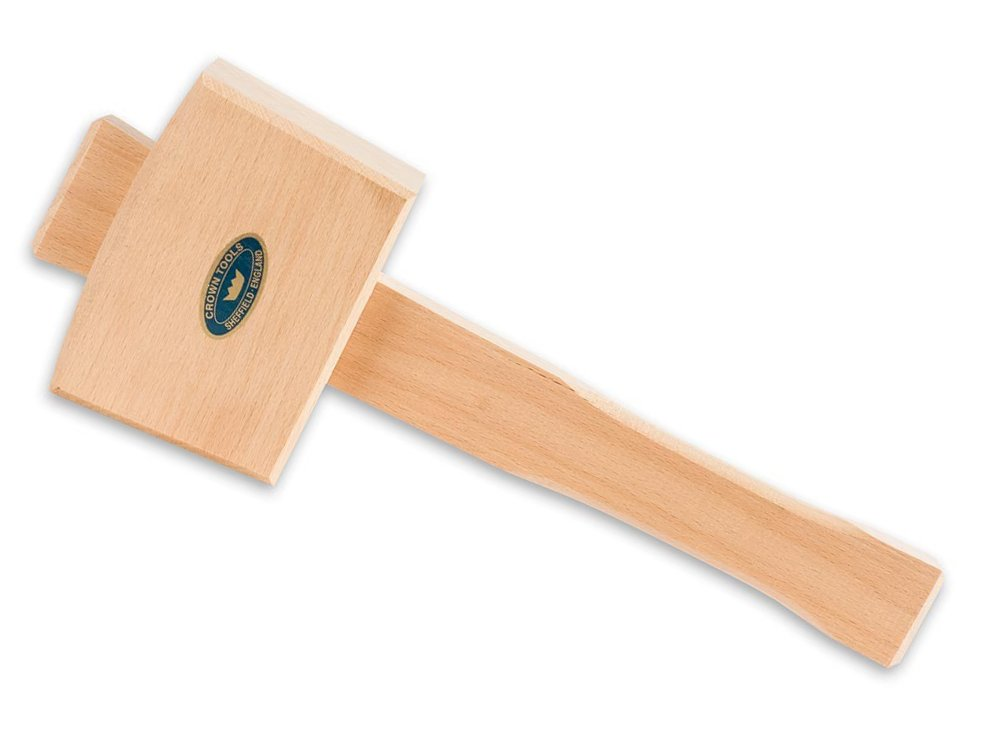 Crown 4-inch Beechwood Mallet by Crown Hand Tools