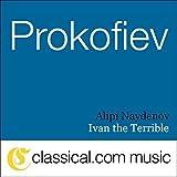 Ivan the Terrible, Op. 116a - God save the Tsar