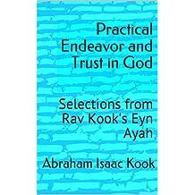 Practical Endeavor and Trust in God: Selections from Rav Kook's Eyn Ayah