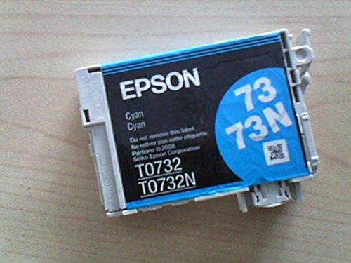 EPSON 73N T105270 REPLACES T0732 Cyan Ink Cartridge