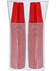 Deal on Red Solo Cup Cold Plastic Party Cups 16 Ounce 100 Pack