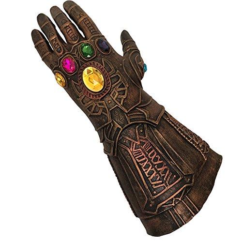 baellerry Halloween Costume Infinity War Thanos Infinity Gauntlet Gloves (Bronze) by baellerry (Image #1)