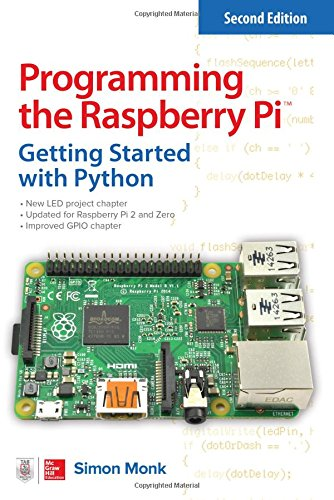 Book cover of Programming the Raspberry Pi, Second Edition: Getting Started with Python by Simon Monk