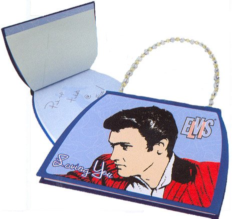 Elvis Presley Purse Shaped Notebook