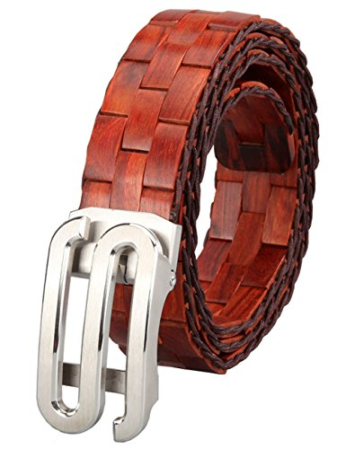 Menschwear Mens & Womens Adjustable Palisander Wooden Belt Handmade 120CM by Menschwear (Image #1)