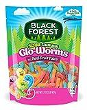 Black Forest Sour Gummy Glo Worms Gummy Candy, Strawberry/Orange/Lemon/Apple/Pineapple/Cherry, 2 Pound