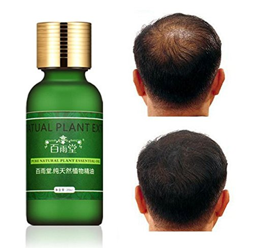 Natural Plant Extract Rapid Hair Growth Essence Essential Oil Liquid Ginseng Ginger Herbal Pure by Saturday24