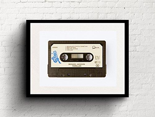Michael Jackson - Thriller - Cassette Print