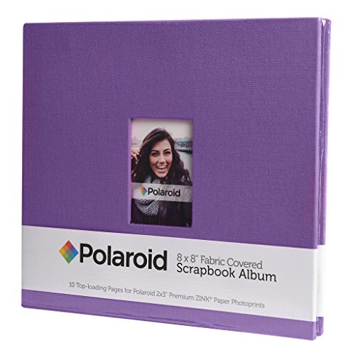 Polaroid Covered Scrapbook Picture Projects