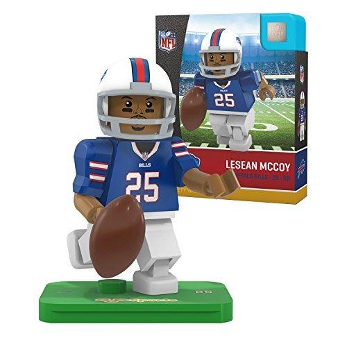 NFL Buffalo Bills Gen4 Limited Edition Lesean Mccoy Mini Figure, Small, - Lesean Mccoy Green