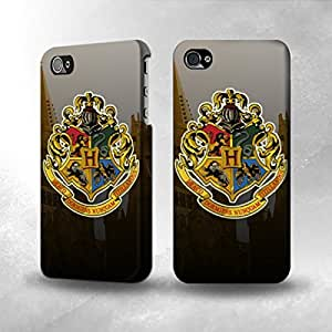 Apple iPhone 4 / 4S Case - The Best 3D Full Wrap iPhone Case - Hogwarts School of Witchcraft and Wizardry