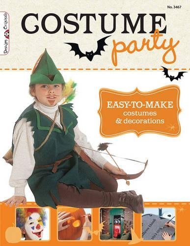 Costume Party Book: Easy-to-Make and Inexpensive Outfits for Halloween, Theatre, and Creative Play (Design Originals) ()