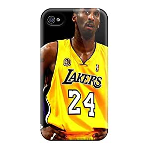 Finleymobile77 Iphone 4/4s Well-designed Hard Cases Covers La Lakers 24 Kobe Bryant Protector