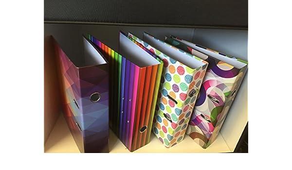 Gama al por mayor moda - Archivador de palanca (A4, varios colores): Amazon.es: Oficina y papelería