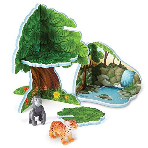 Jungle Animal Playset - 2