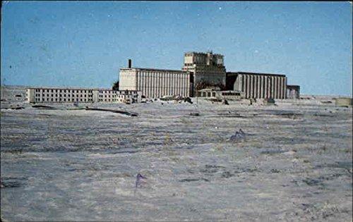 National Harbours Board Grain Elevators Manitoba Canada Original Vintage Postcard