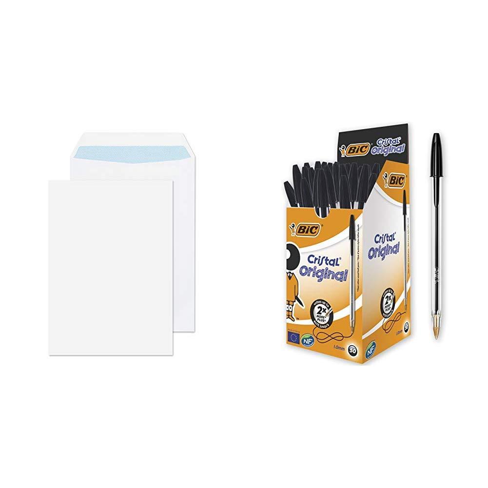 Blake Purely Everyday C4 324 x 229 mm 100 gsm Pocket Self Seal Envelopes White 13891 Pack of 250
