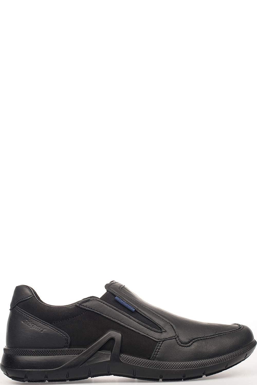 Grisport Hombre 43108D1 Negro Cuero Zapatillas Slip-On Slip-On Slip-On 363878